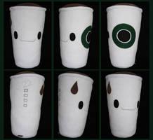 Caffeinated Pillow by melkatsa