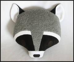 Raccoon Pillow by melkatsa