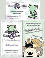 Business Cards - WIP by melkatsa