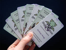 Yay Business Cards by melkatsa