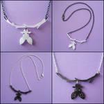 Hanging Bat Necklaces