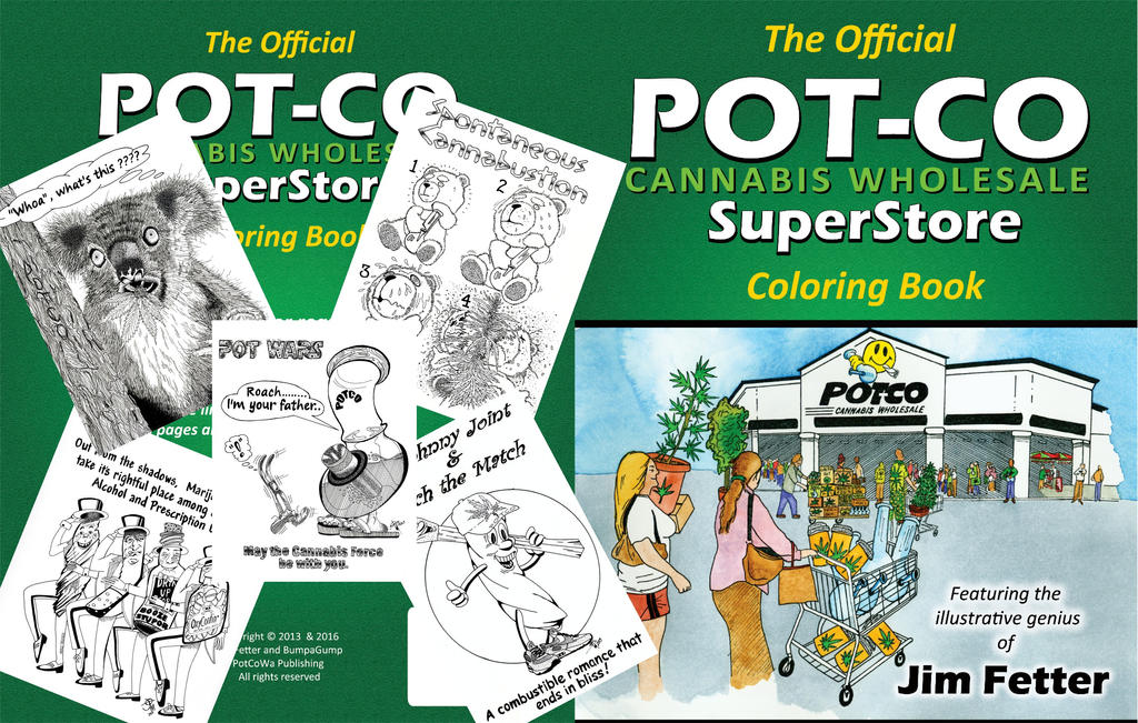 cannabis coloring book by water illustrator - Cannabis Coloring Book