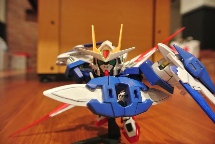 Sd Gundam 00 Raiser By Shinseigo Takashi On Deviantart
