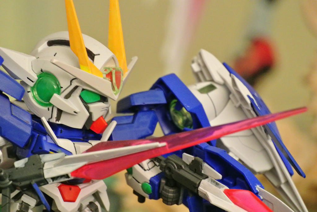 SD Gundam 00 Raiser by Shinseigo-Takashi