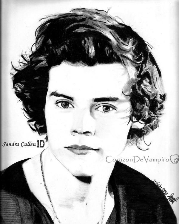 Harry Styles by CorazonDeVampiro