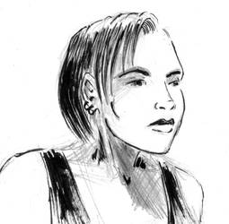 Ruth portrait by Fideldurana