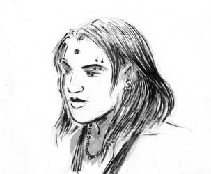 Ava portrait  by Fideldurana