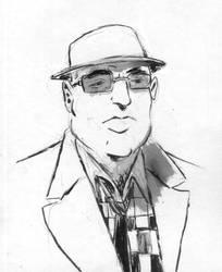 Octavio portrait by Fideldurana