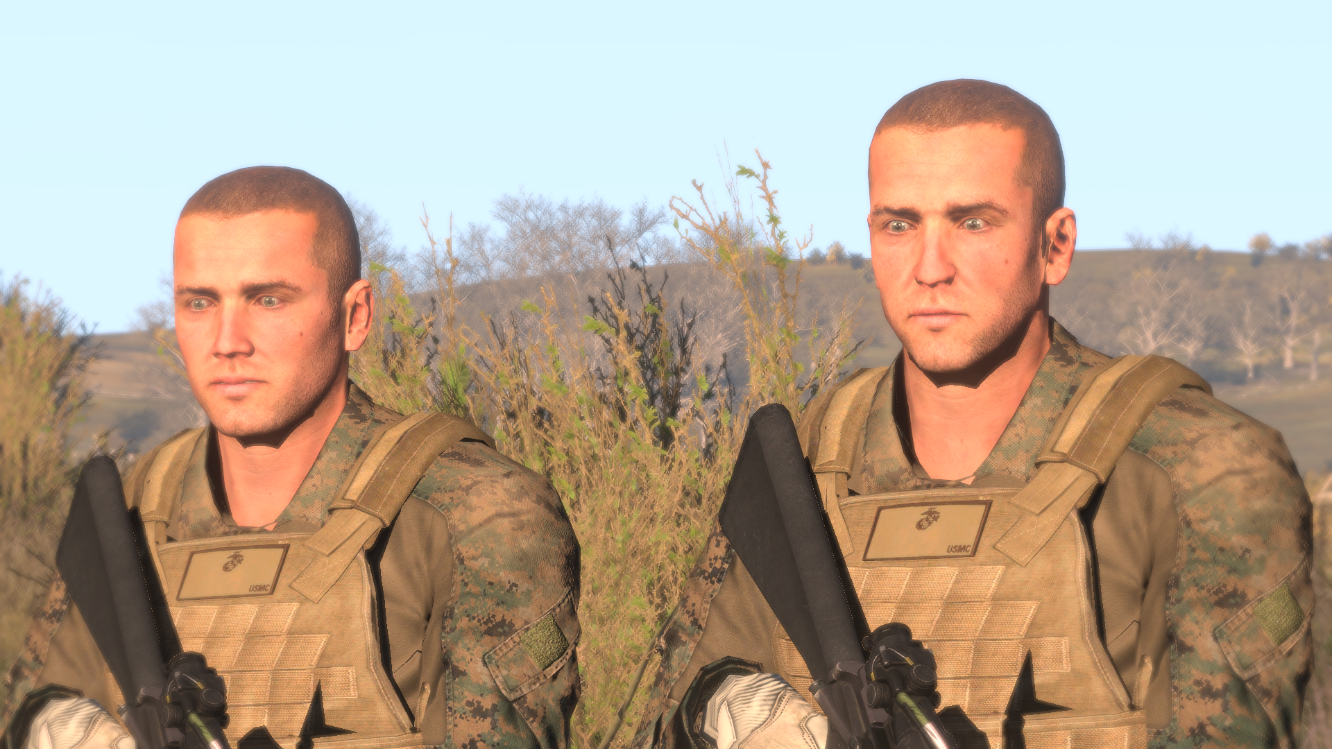 how to add beards to arma3 custom faces