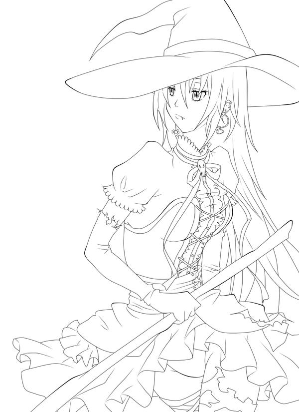 Line Art Halloween : Halloween lineart by kohane chan on deviantart