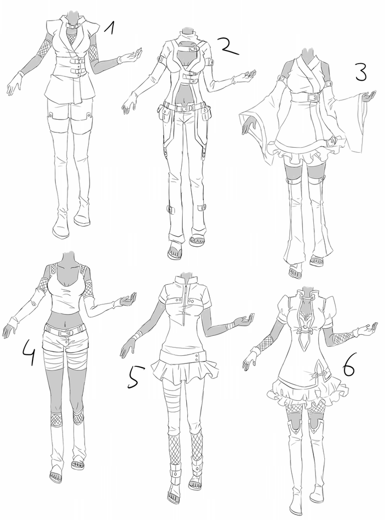 Cute Anime Drawing Ideas Outfit