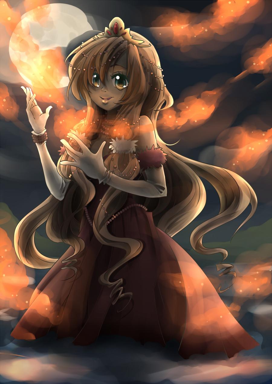 firefly princess by Kohane-chan