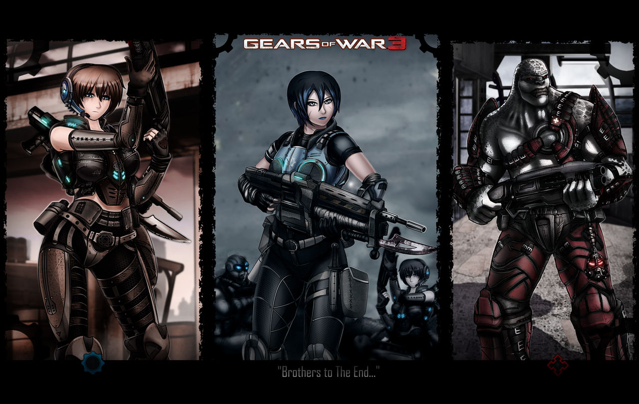 Gow 3 My Artwork Wallpaper By Arcadet On Deviantart