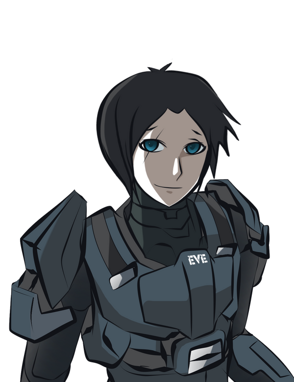 speed doodle - odst evelyn by arcadet