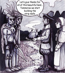 Black Friday Comic Strip