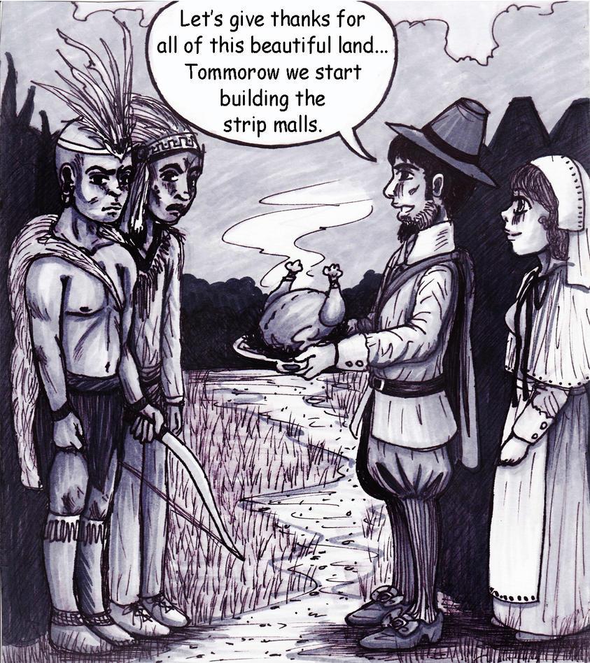 Black Friday Comic Strip by happybullet15