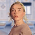 Florence Pugh's Portrait