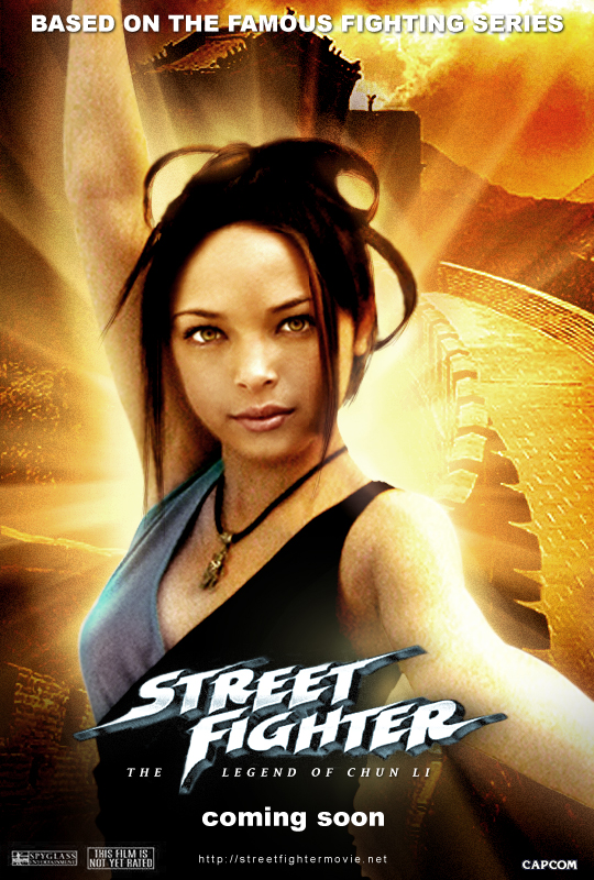 Legend Of Chun Li Manip Poster By Streetfighterart On Deviantart