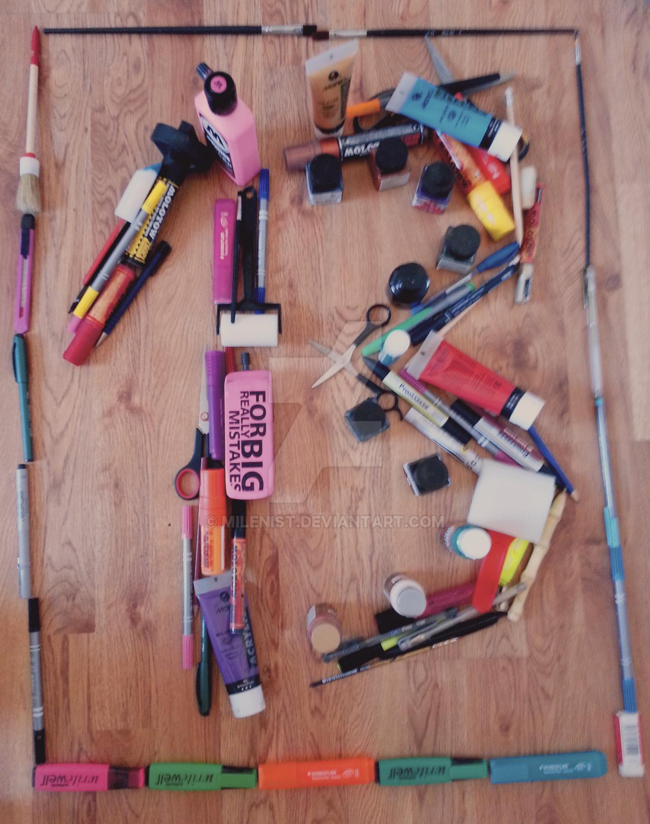 dA's Birthday - Creatively Photograph 13 Contest by Milenist