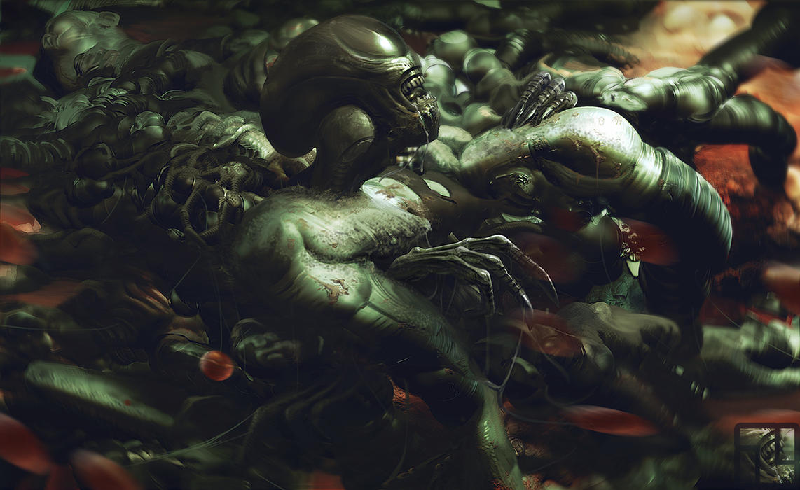 Alien Birth by INITZS