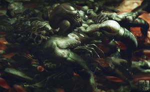 Alien Birth by INITZS