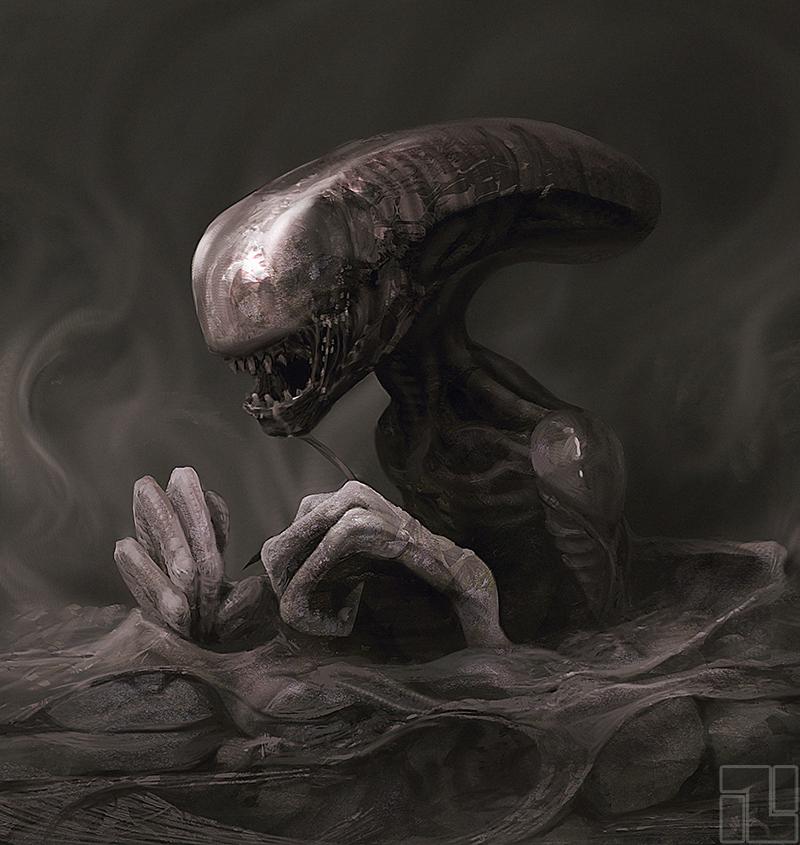 Alien Smoke by INITZS