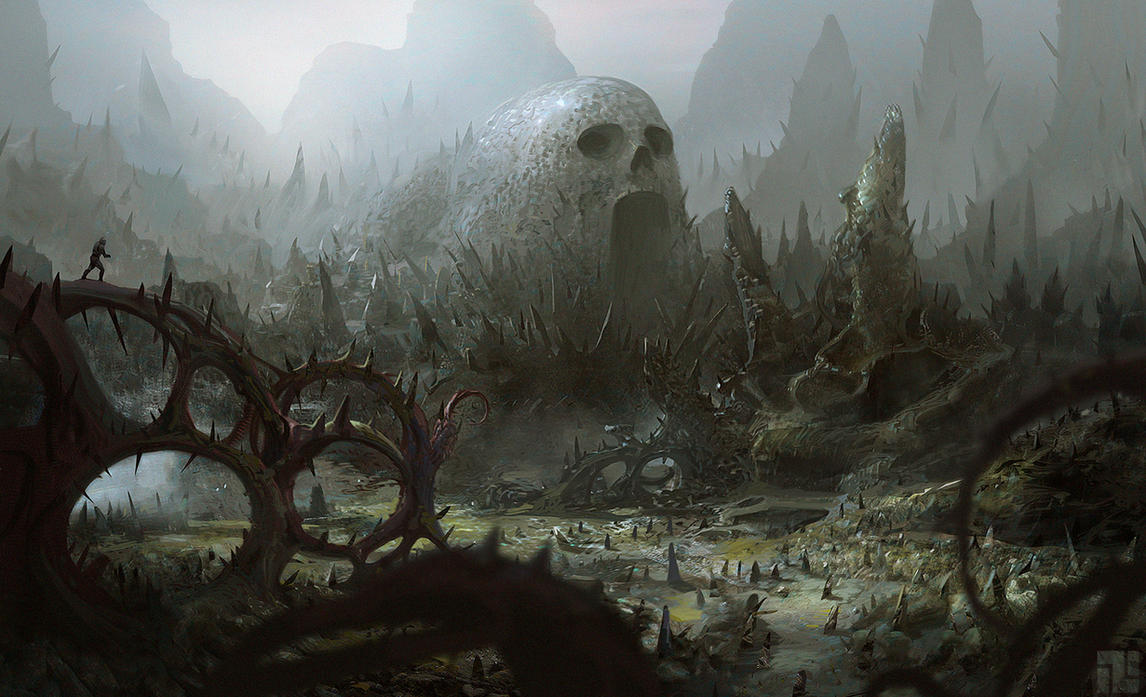 ALIEN TERRAIN by INITZS