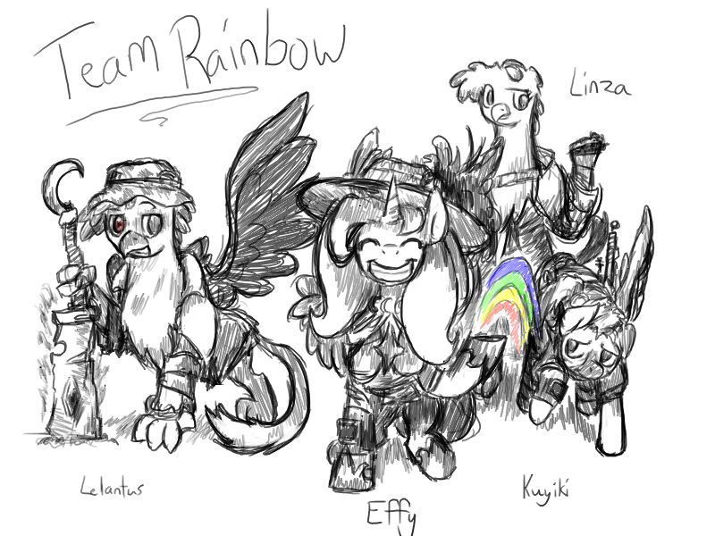 TeamRainbow by Heimdal00