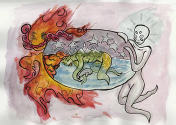 Earth Made Flesh by strikhedoniak