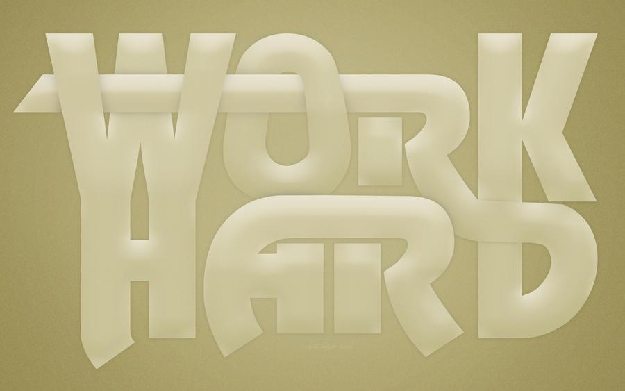 Work Hard by DragosM