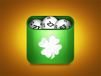 iOS Lotto App Icon by DragosM