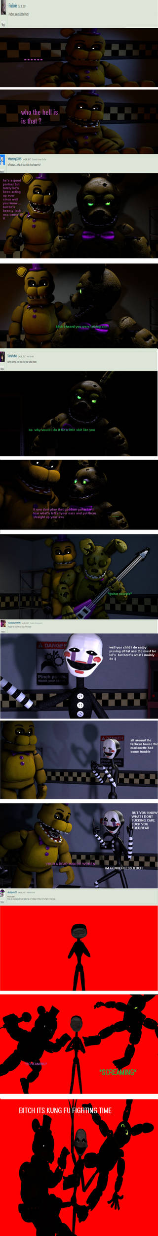 ask the fredbear puppet and spring bonnie part 1