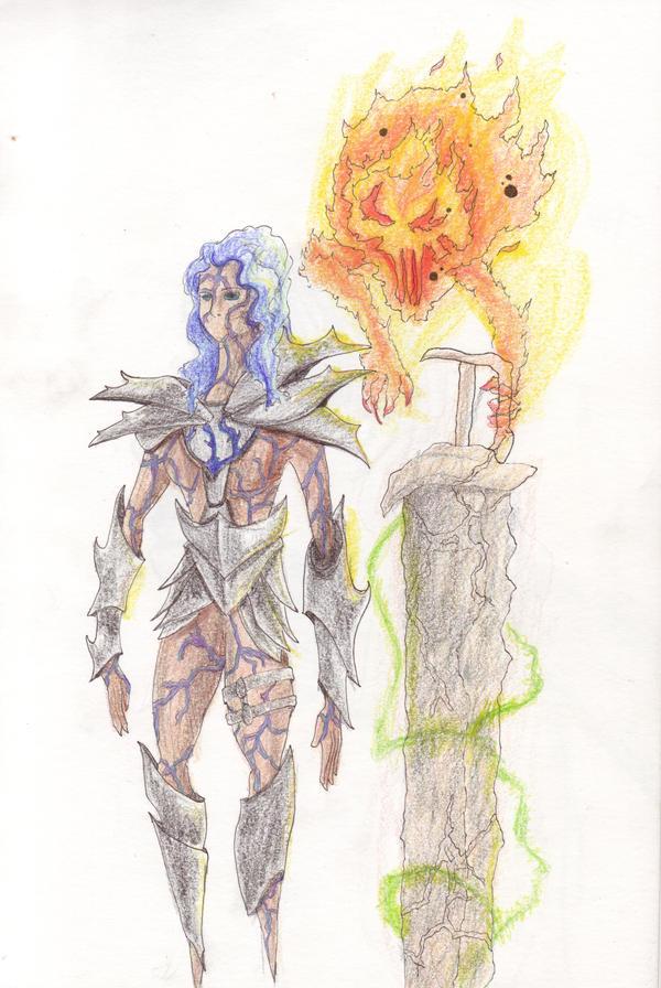 Earthblade and Wind burners by Hallwardo
