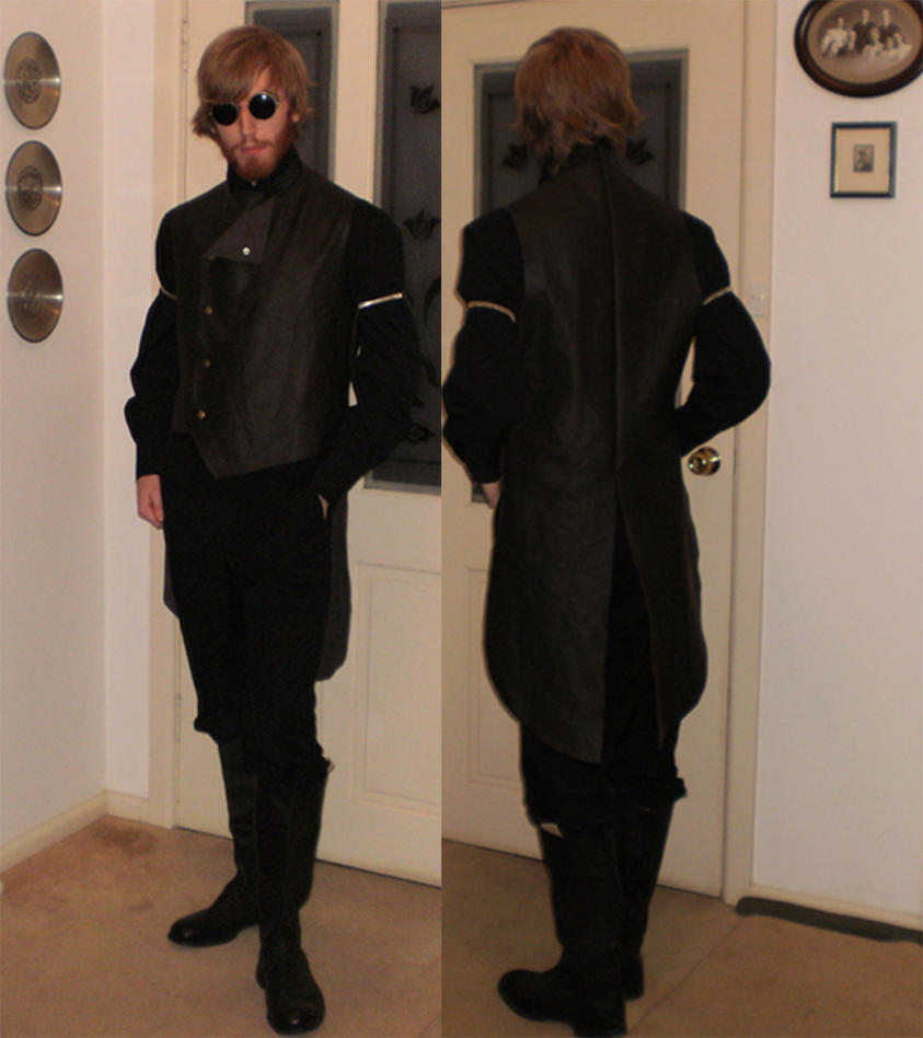 Sleeveless tailcoat by Al-the-Monkey
