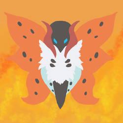 Day 1 Bug - Volcarona by RedAkaFox
