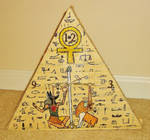 Anubis Clock By Bethany