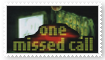 One Missed Call movie stamp by pantheon9000