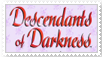 Descendants of Darkness stamp by pantheon9000