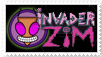 Invader Zim stamp
