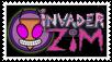 Invader Zim stamp by pantheon9000