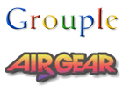 Air Gear Grouple by pantheon9000