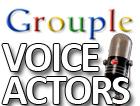 Voice Actors Grouple by pantheon9000