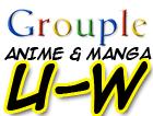 Anime and Manga U-W Grouple by pantheon9000