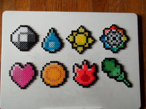 Pokemon 1st Gen Badges