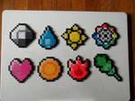 Pokemon 1st Gen Badges