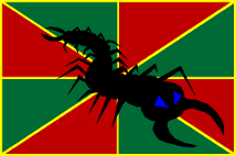 Scolopendran Flag by TheCentipede
