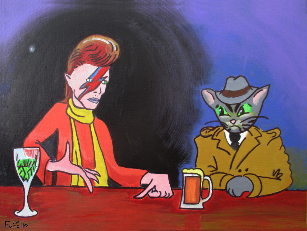 Talking with David Bowie by JohnFarallo
