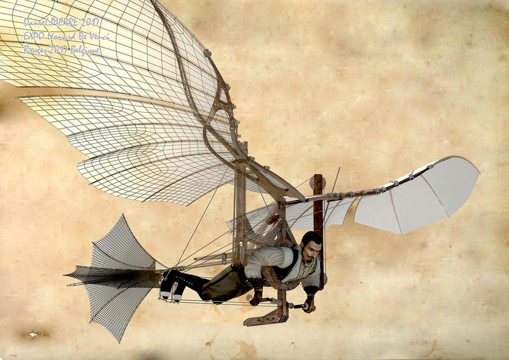 Machine-volante-1920 by semiosdekharna