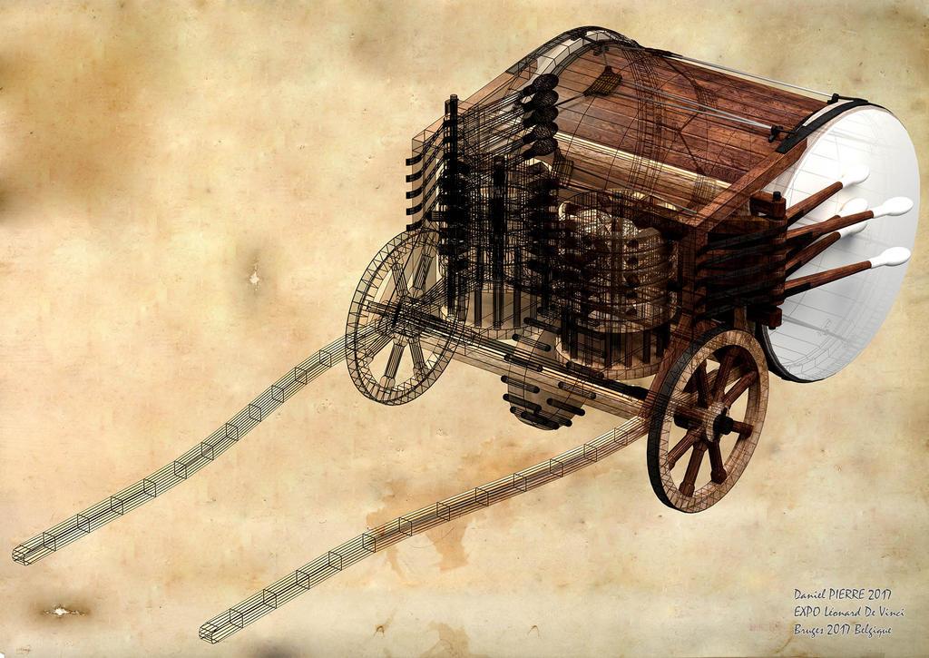 Tambour-mecanique-1920 by semiosdekharna