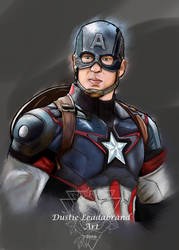 Captain America by dleadabrand